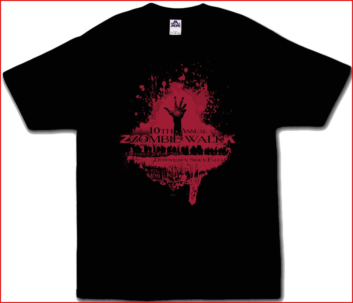 2015 Zombie Walk Shirt