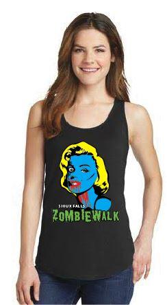 2016 Zombie Walk Women's Tank